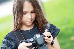 Adorable little girl Stock Photography