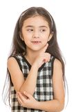 Adorable little girl Oriental beauty Royalty Free Stock Photos