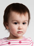 Adorable little girl portrait Stock Photo