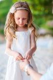 Adorable little girl portrait Stock Images