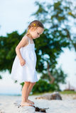 Adorable little girl portrait Stock Photography