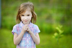 Adorable little girl portrait Royalty Free Stock Image