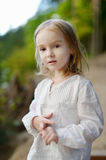Adorable little girl portrait Royalty Free Stock Images