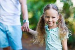 Adorable little girl portrait Stock Photo