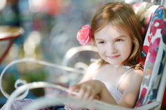 Adorable little girl portrait Royalty Free Stock Photo