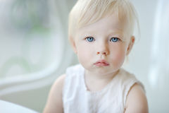Adorable little girl portrait Royalty Free Stock Photos