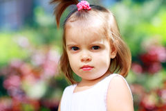 Adorable little girl Stock Image