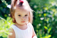 Adorable little girl Stock Images