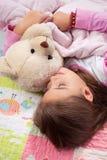 Adorable little girl sleep Royalty Free Stock Photography
