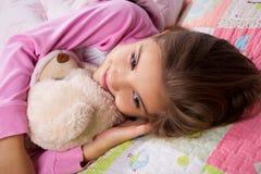 Adorable little girl sleep Stock Photography
