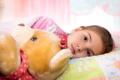 Adorable little girl sleep Stock Photo