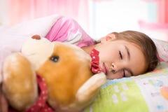 Adorable little girl sleep Royalty Free Stock Images