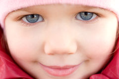 Adorable little girl smiling Royalty Free Stock Photo