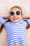 Adorable little girl on vacation Royalty Free Stock Photography