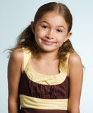 Adorable little latino girl Stock Photography