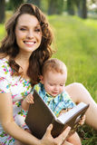 Adorable mom with cute child Royalty Free Stock Photos
