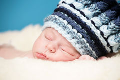 Adorable newborn Royalty Free Stock Image