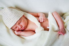 Adorable newborn baby Royalty Free Stock Photography