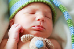 Adorable newborn baby Royalty Free Stock Images