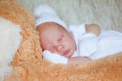 Adorable newborn baby Royalty Free Stock Photos