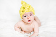 Adorable newborn baby Royalty Free Stock Photo