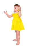 Adorable playful baby Royalty Free Stock Photo