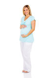 Adorable pregnant woman Royalty Free Stock Photos