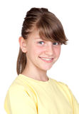 Adorable preteen girl Stock Photos