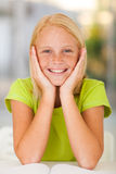 Adorable preteen girl Stock Photography
