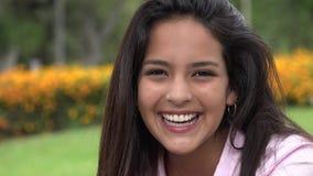 Adorable pretty teen hispanic girl