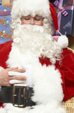 Adorable santa claus Stock Images