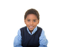 An adorable school aged boy Royalty Free Stock Photo