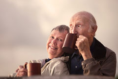 Adorable Senior Couple Royalty Free Stock Images