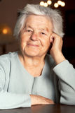 Adorable senior woman Royalty Free Stock Image