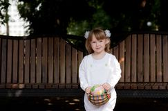 Adorable small girl Royalty Free Stock Images