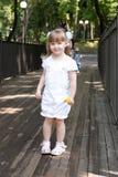 Adorable small girl Stock Photo