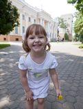 Adorable small girl Stock Photos
