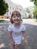 Adorable small girl Stock Photos
