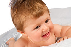 Adorable smiling baby Royalty Free Stock Image
