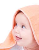 Adorable smiling baby Stock Image