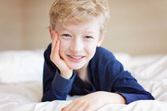 Adorable smiling boy Royalty Free Stock Images