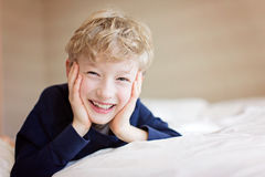 Adorable smiling boy Royalty Free Stock Photos