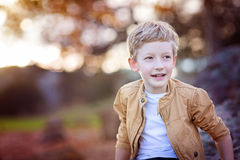 Adorable smiling boy Royalty Free Stock Photo