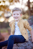 Adorable smiling boy Stock Photo