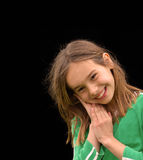 Adorable Smiling Little Girl Stock Image