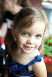 Adorable Smiling Little Girl Royalty Free Stock Photo
