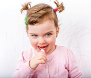 Adorable sweet child Stock Images