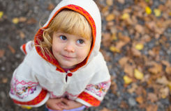 Adorable tiny girl Royalty Free Stock Image