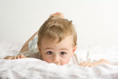 Adorable toddler Royalty Free Stock Images