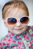 Adorable toddler girl Stock Image